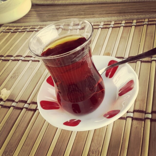 Turkesh tea @ Yuvam Cafe - Turkey