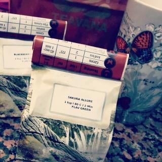 Sakura Allure Green Tea Time ❤