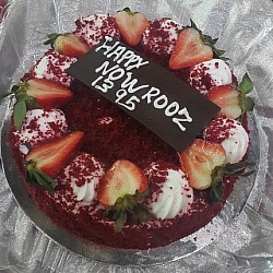 Happy #new_year 🌹🌹 #nowrooz #1395 #cake