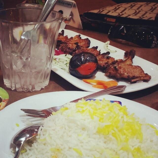 Shishlik♡ @ رستوران بزرگ خادم - إيران