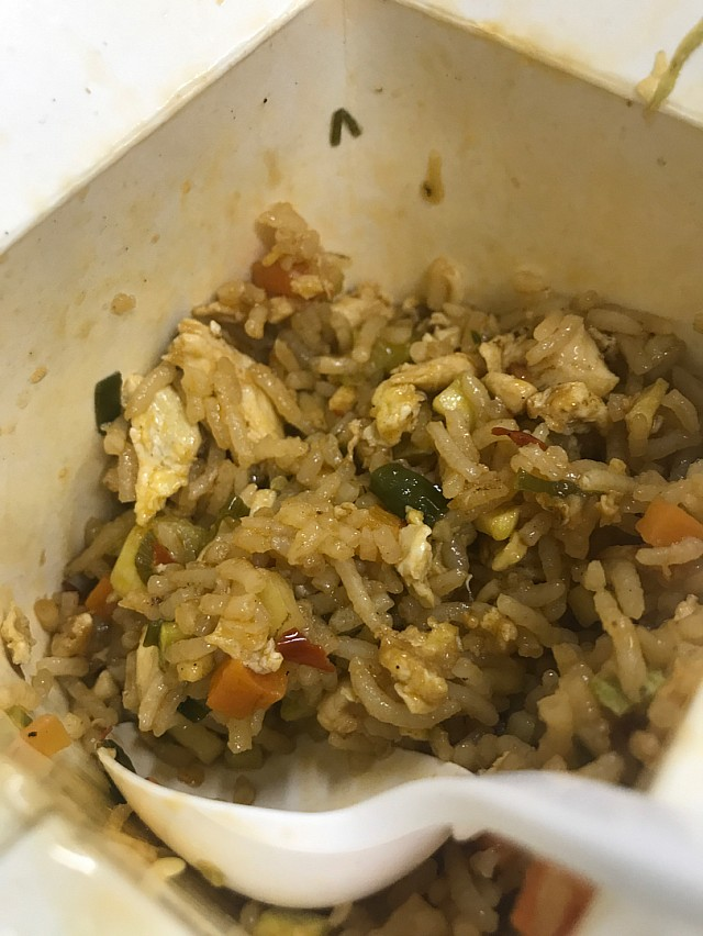 Chicken fried rice from box it