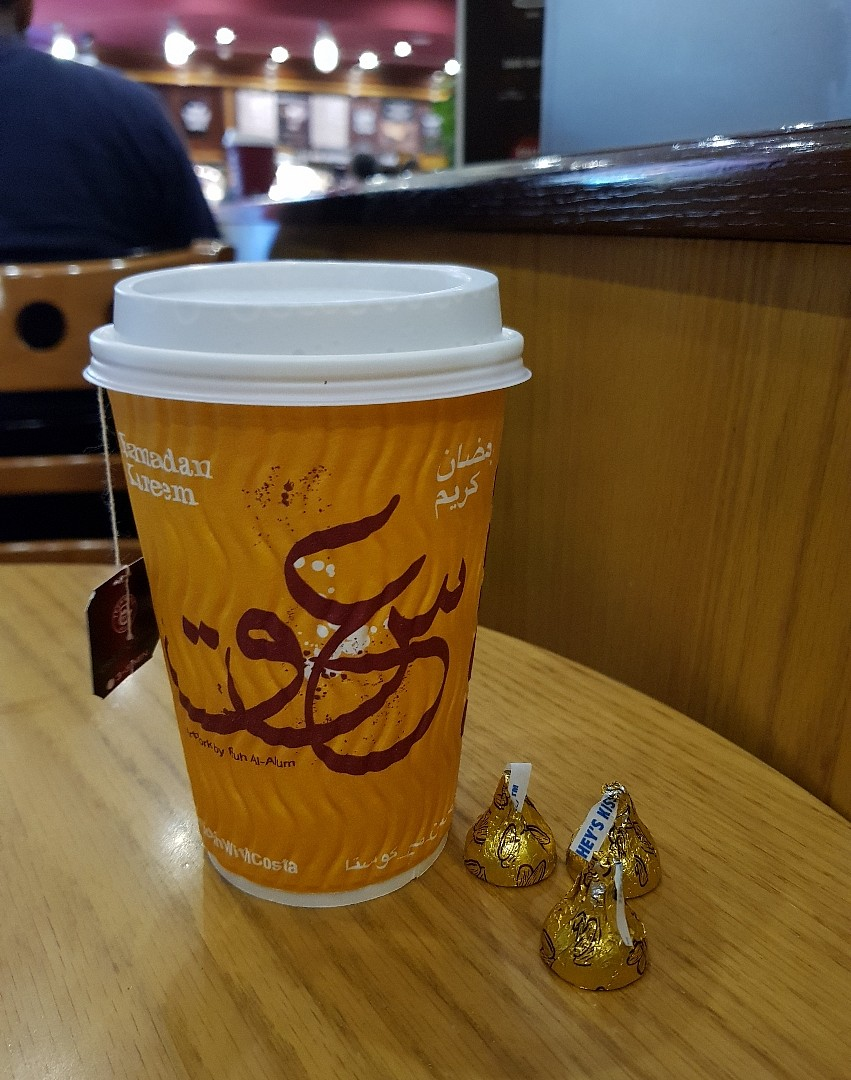 Ramadhan at costa ☕ @ Costa Coffee - Bahrain