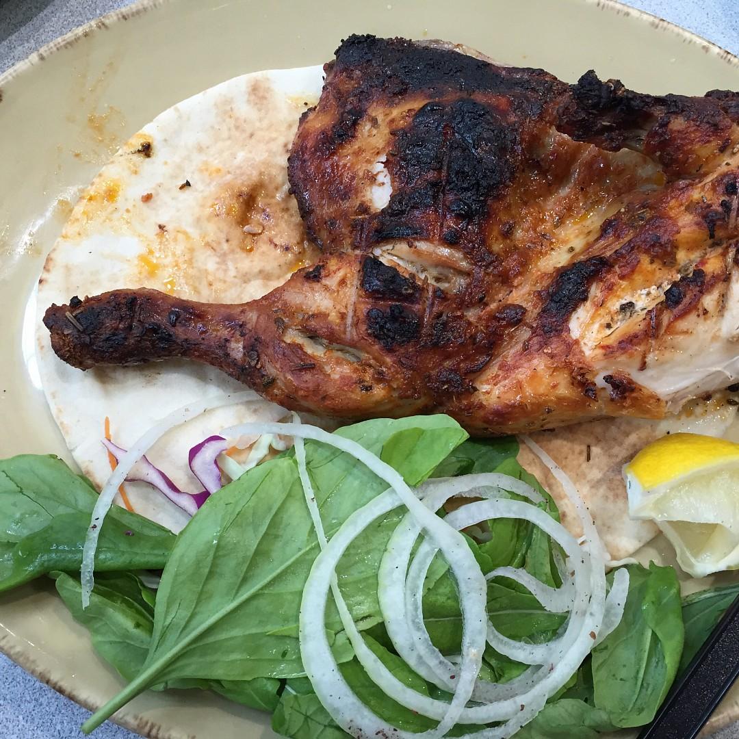 Half grilled chicken @ Al Abraaj - Bahrain