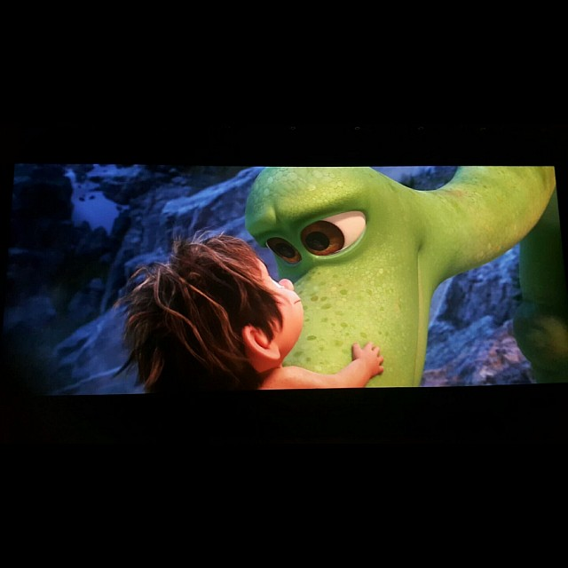 The good dinosaur 😍 Helping your child face fears
