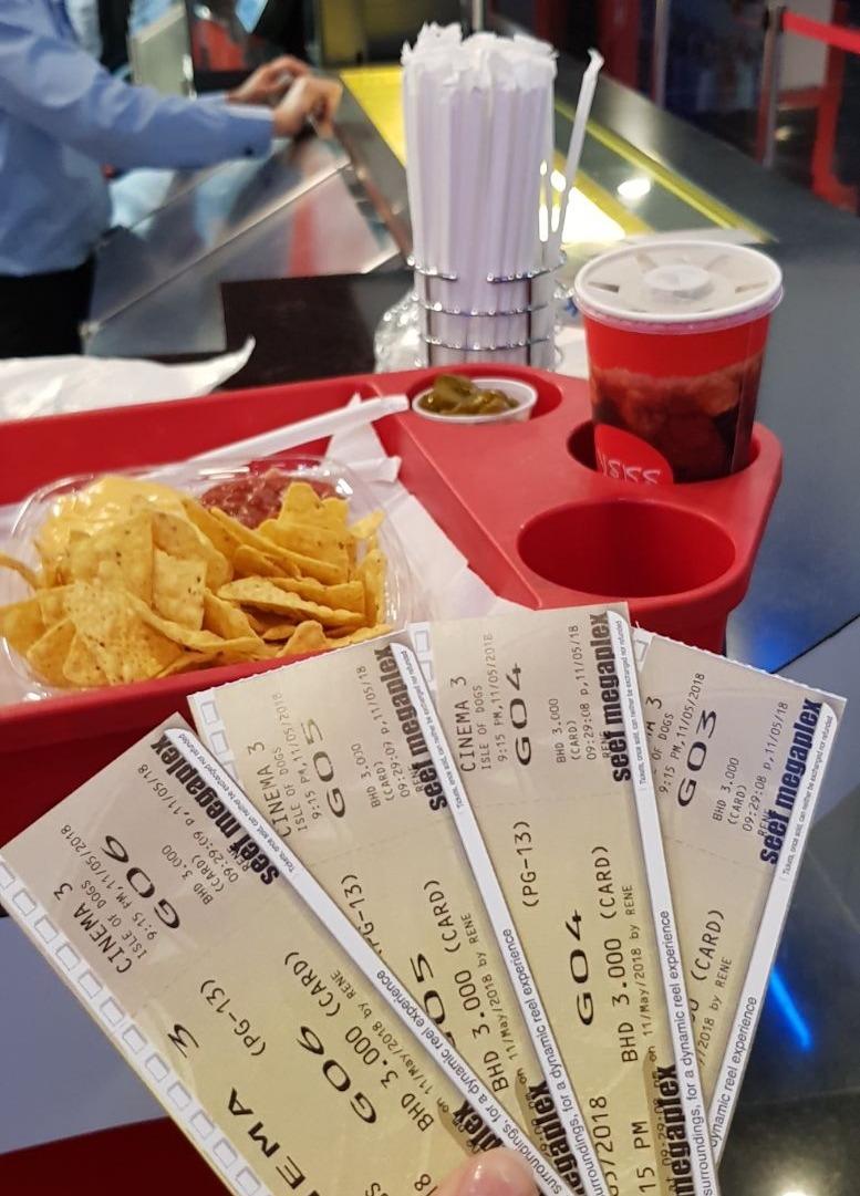Isle of Dogs - I didnt like this movie @ Seef (II) Cinemas - Bahrain