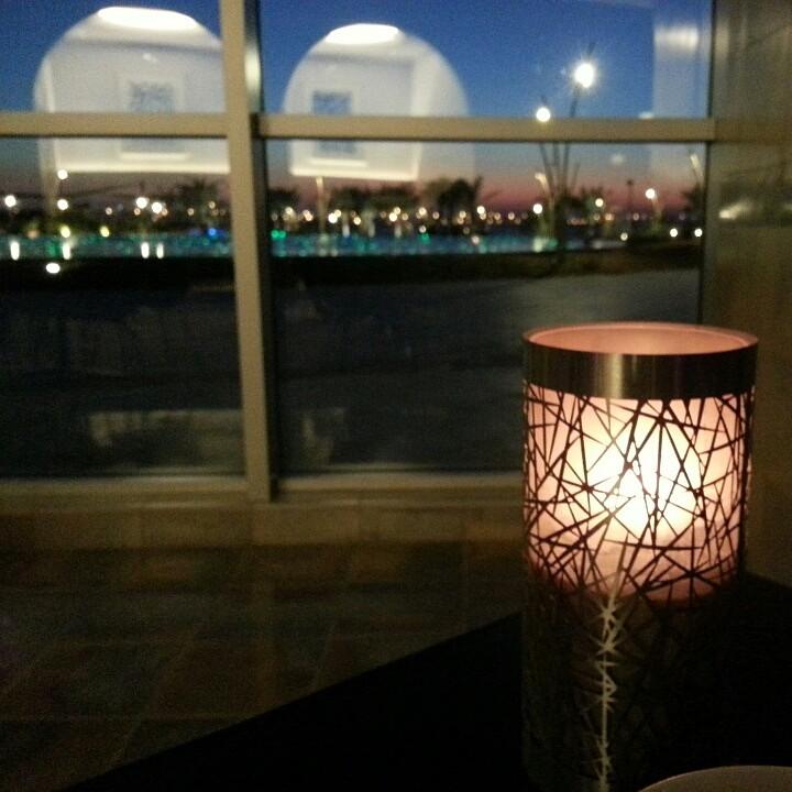 Fountain view @ The Gallery Lobby Lounge - Bahrain