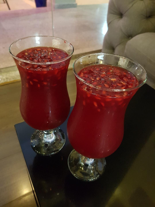 the best pomegranate juice @ عصائر دربي - البحرين