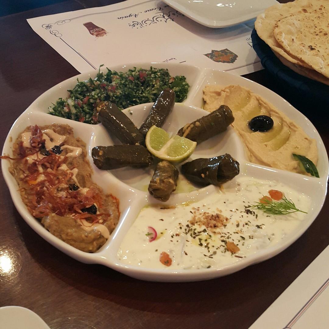 Mix mezza Yummy @ Isfahani - Bahrain