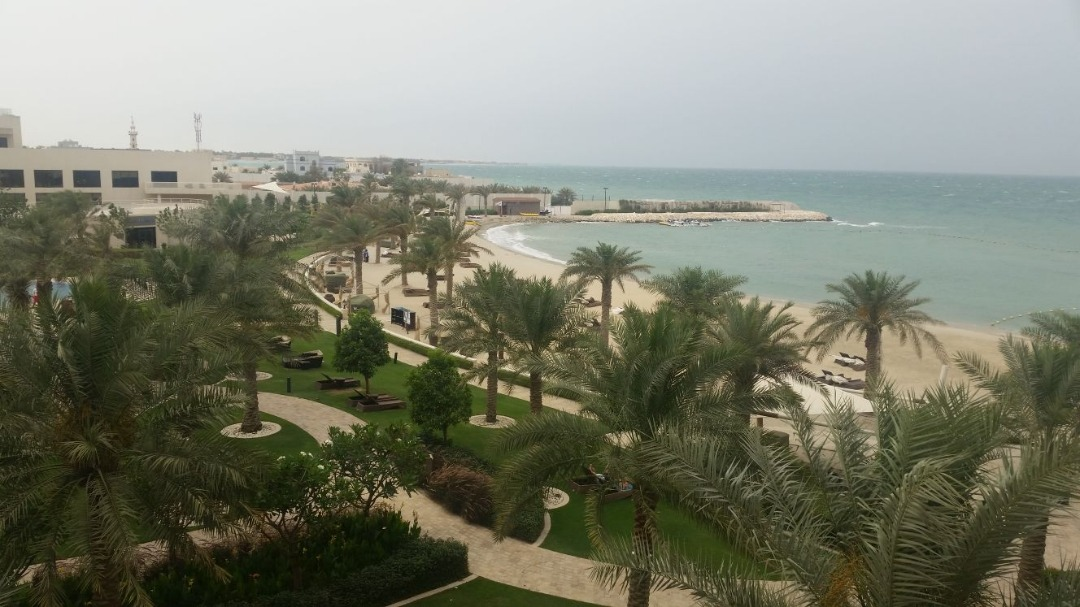 Best beach around @ Hotel Sofitel Bahrain Zallaq Thalassa Sea & Spa - Bahrain