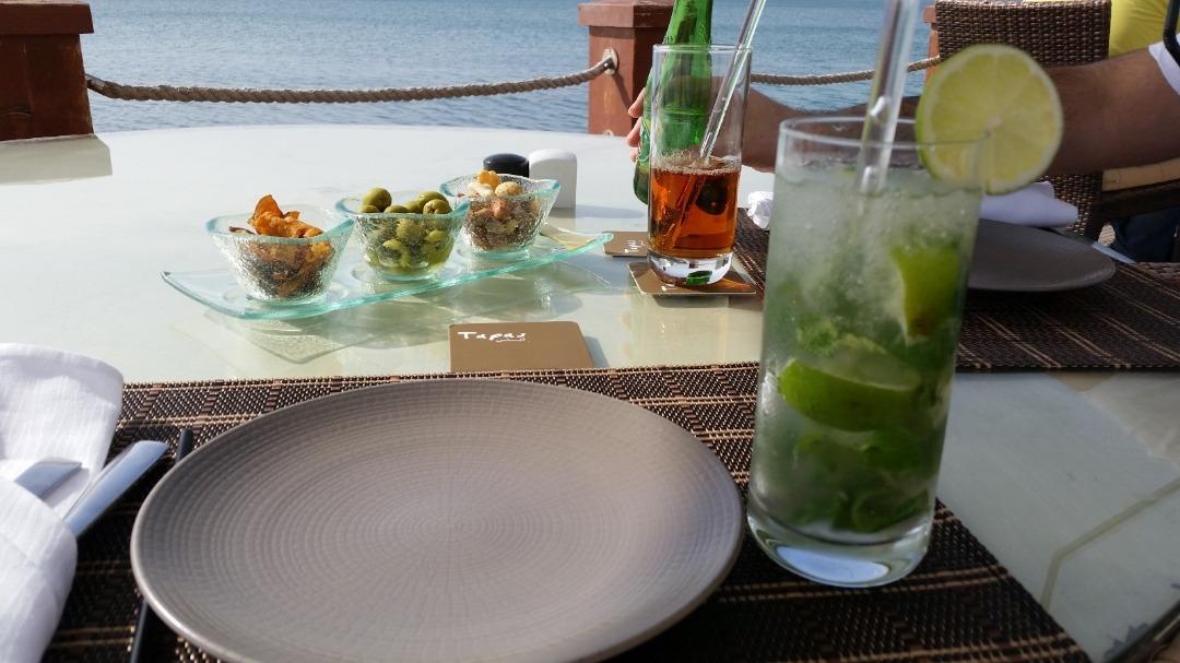 Drinks at tapas @ Hotel Sofitel Thalassa Sea & Spa - Bahrain