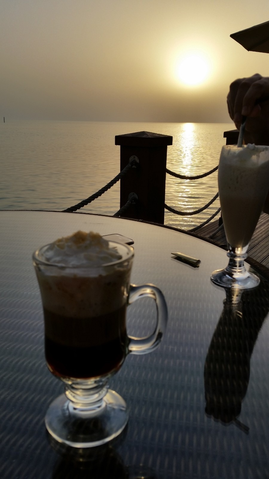 Coffee at tapas restaurant @ Hotel Sofitel Thalassa Sea & Spa - Bahrain