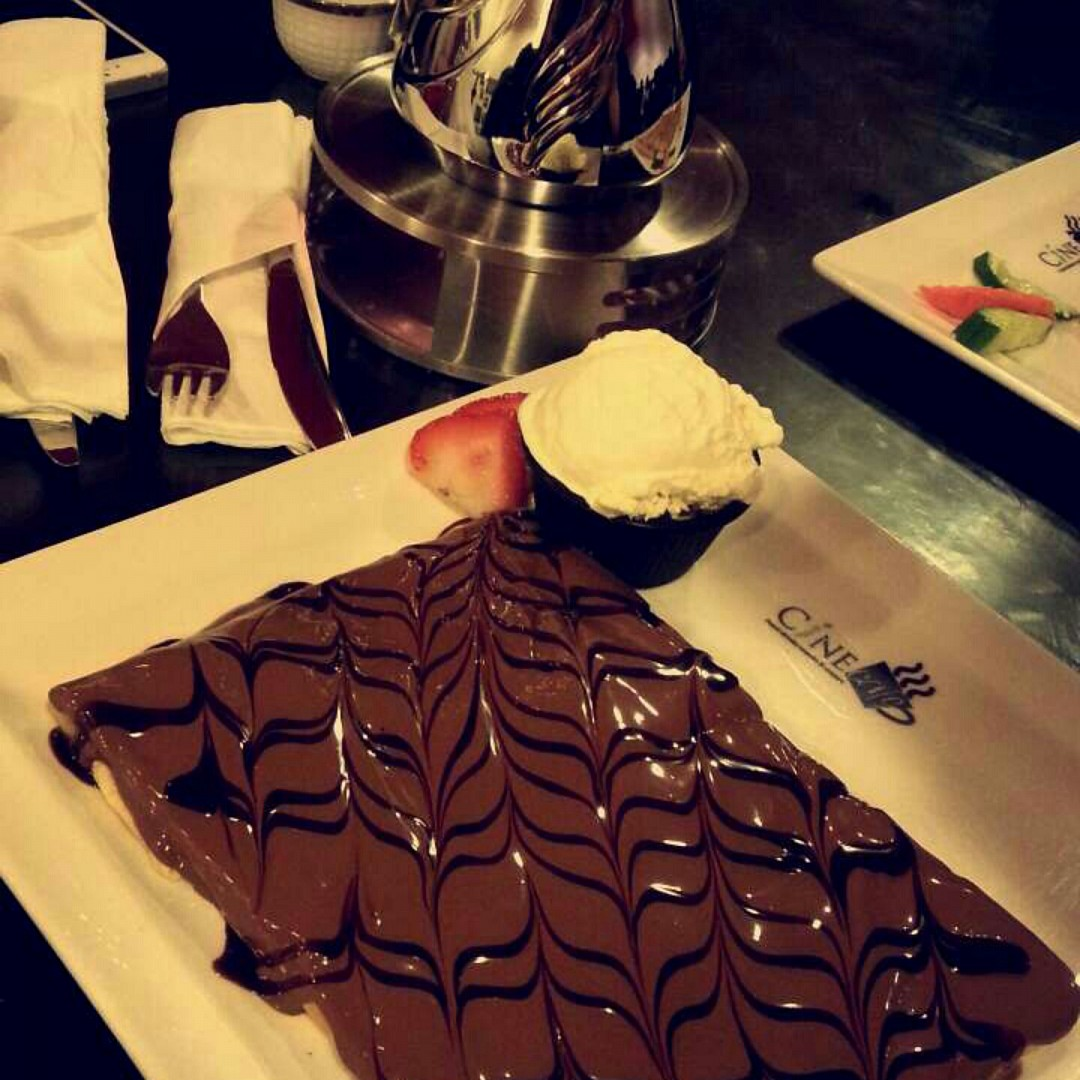 🙌 @ Cine Cafe - Bahrain