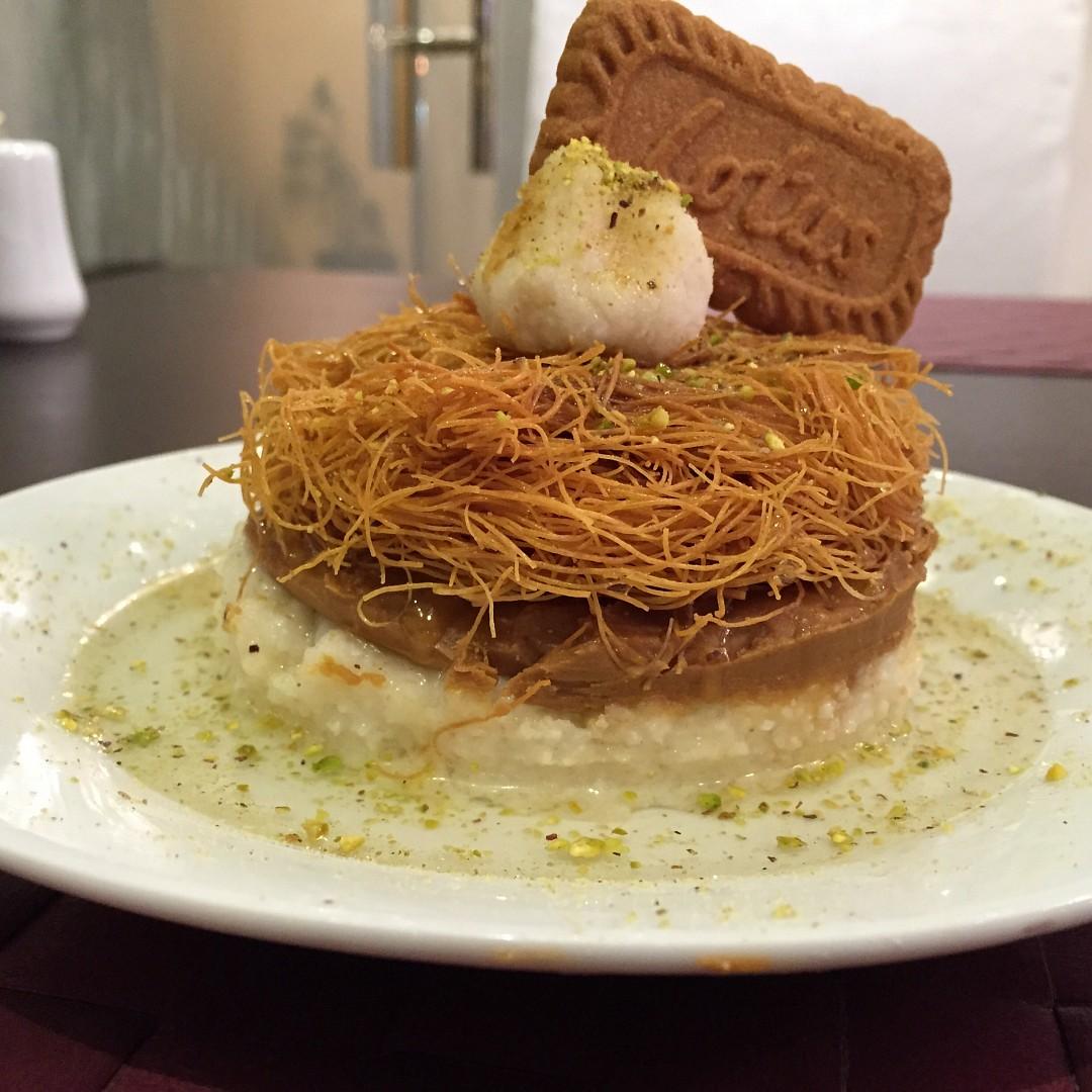 عسمنلية باللوتس ... مذاق رائع .. جربوه 👌 @ Maria Cafe & Restaurant - Bahrain