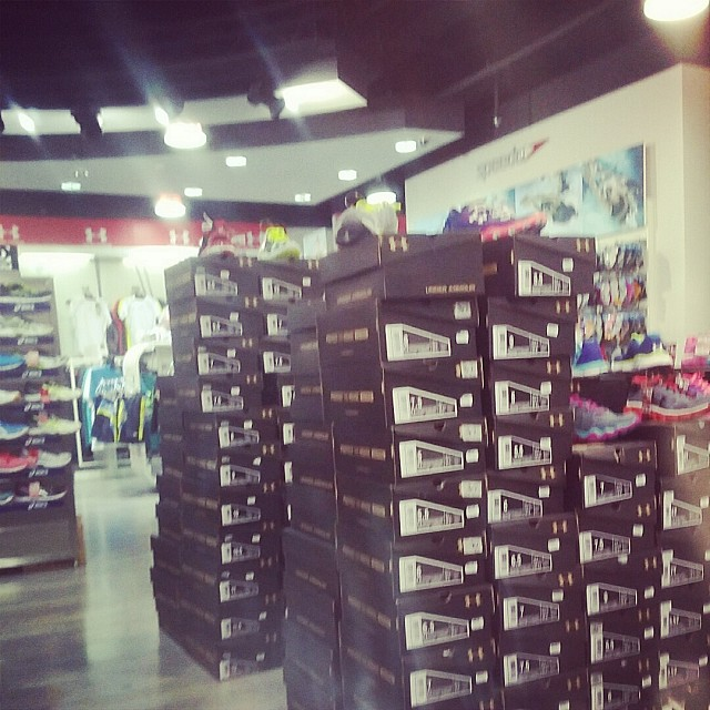 Getting a new under Armour shoes