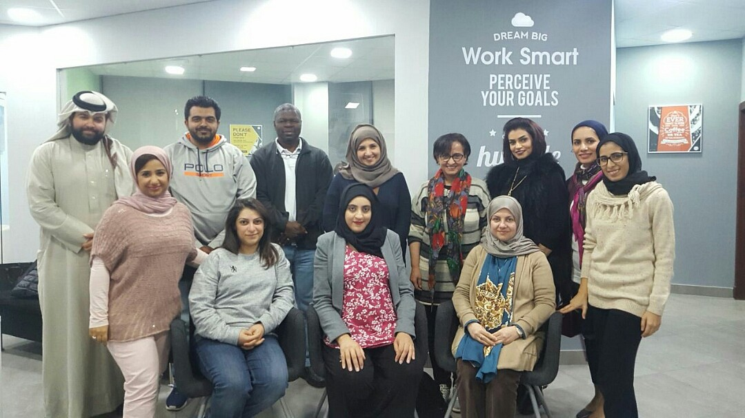 Business owners who attended my marketing program to build their marketing strategy and growth road map. @ Keynotes Consultants - Bahrain