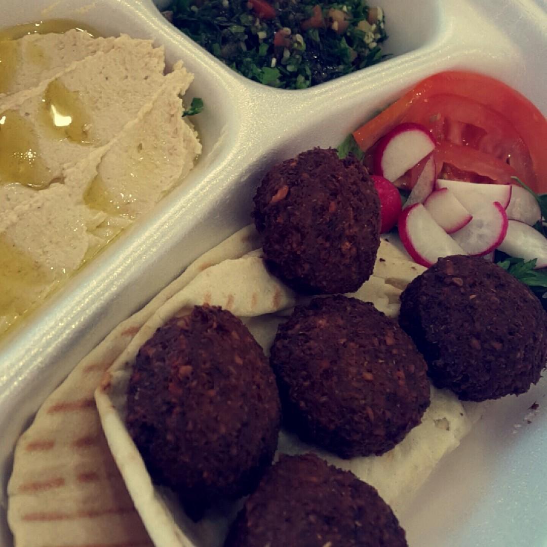 Just Falafel ❤ @ Just Falafel - Bahrain