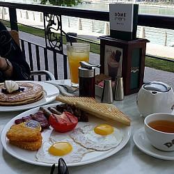 Dome breakfast