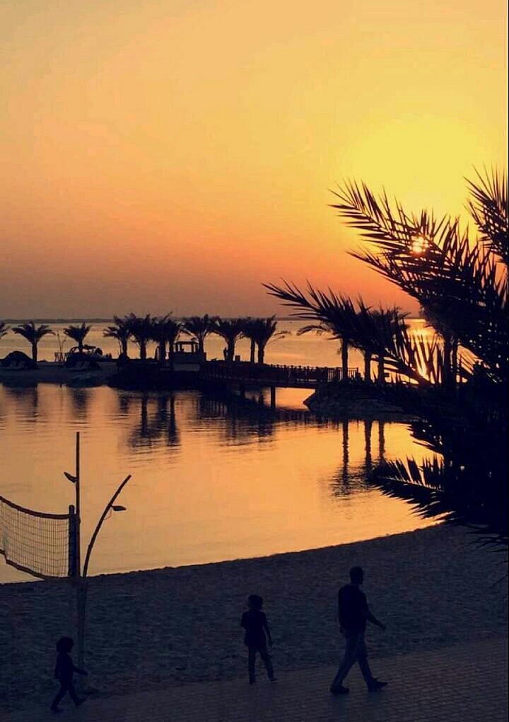 #غروب #امواج ارت روتانا @ Art Rotana Amwaj Island Bahrain - Bahrain