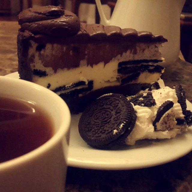 Oreo #cheesecake