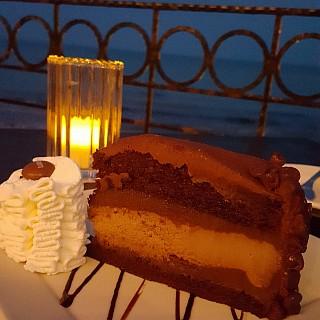 Chocolate cheesecake 😋