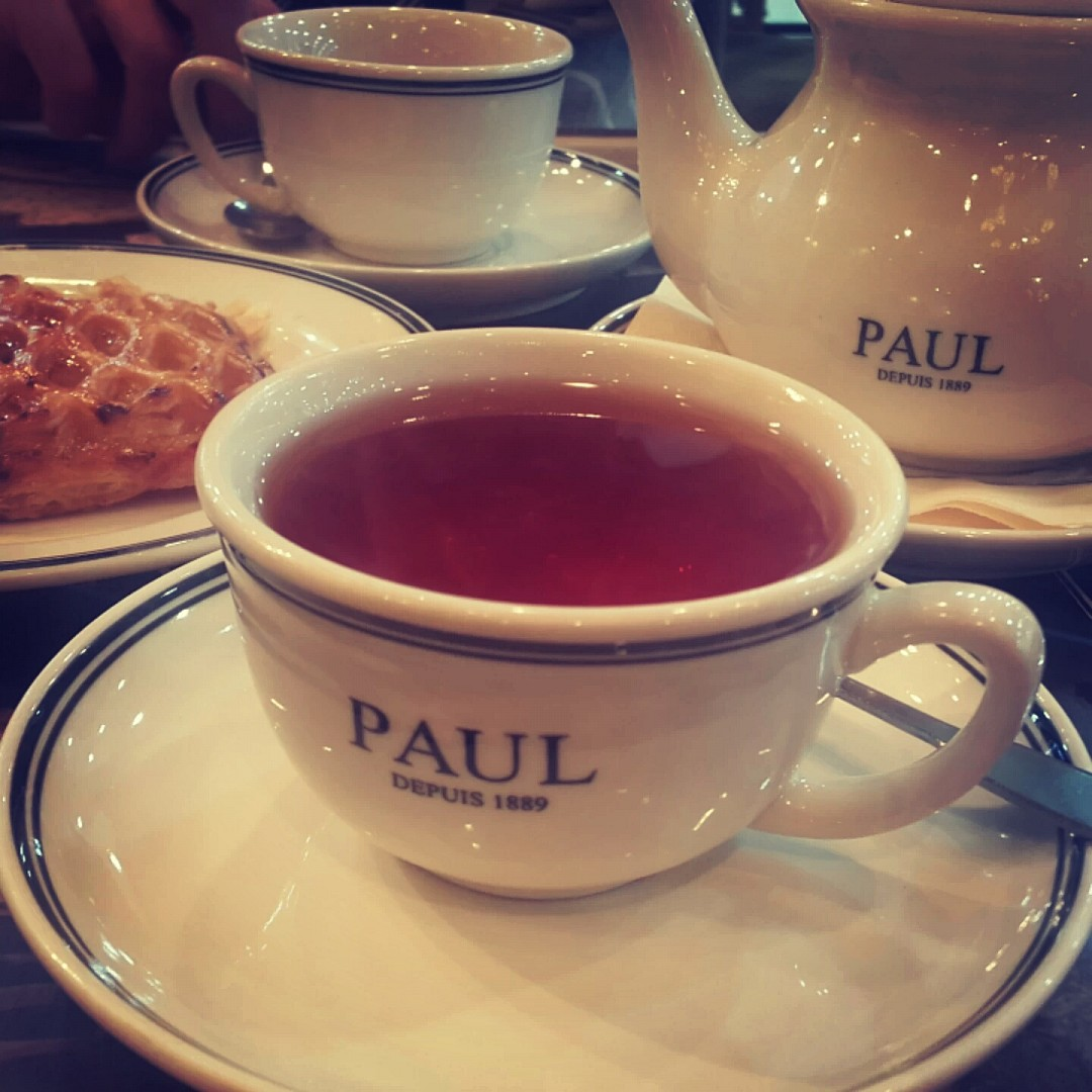 #babonj #tea 💜 @ Paul - UAE