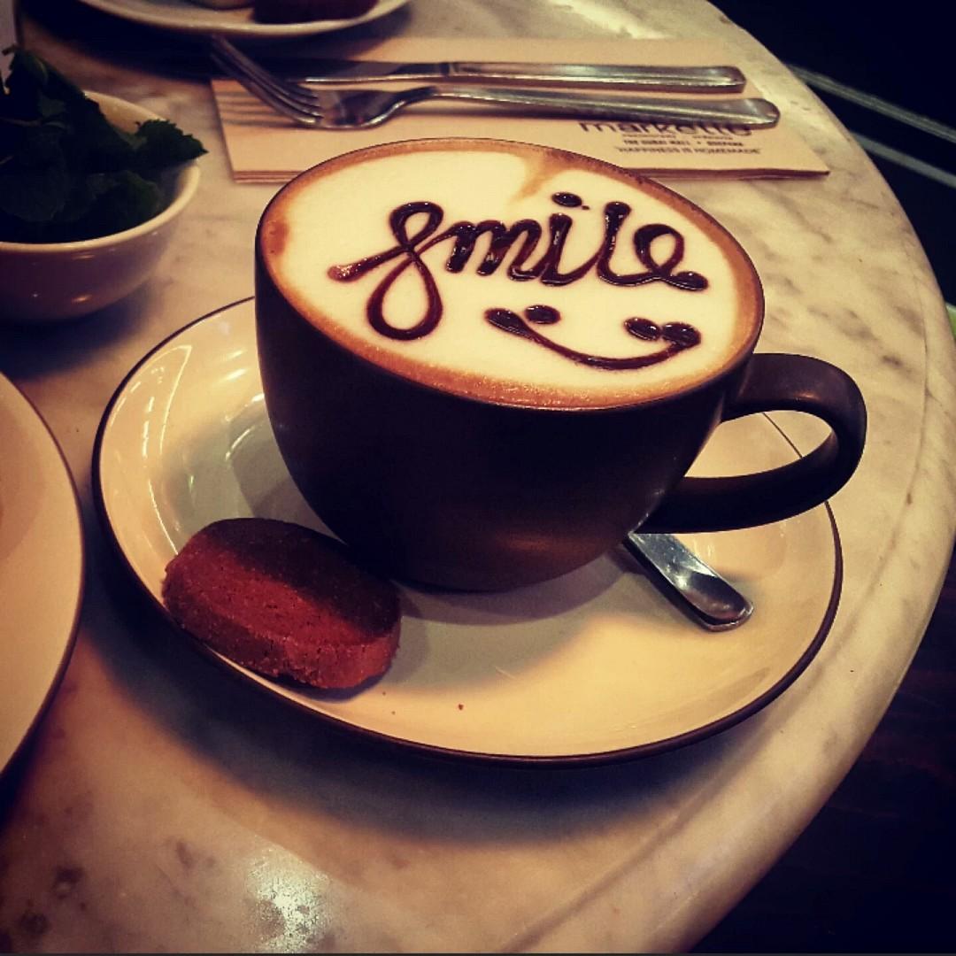😊☕ #smile @ Markette - UAE