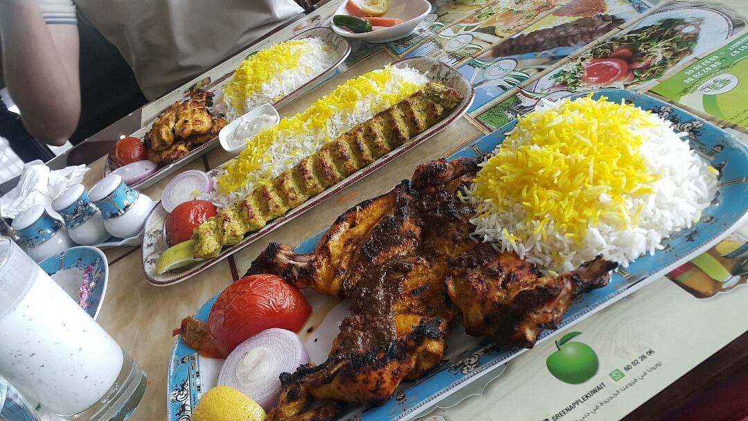 Persian part 😋 @ سيب سبز - الكويت