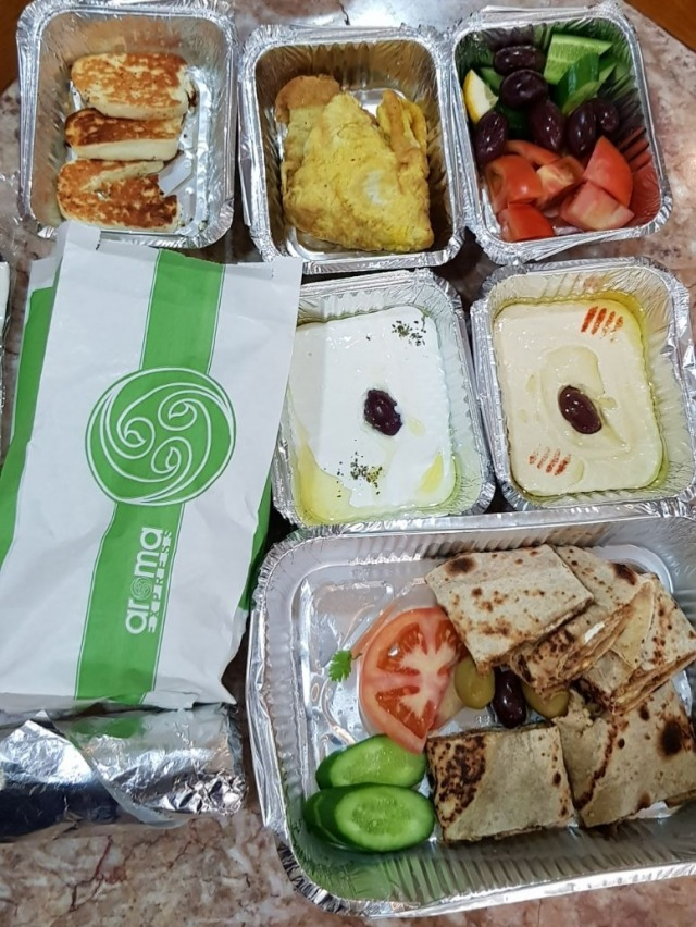 Arabian breakfast package on delivery (1.800 BD)