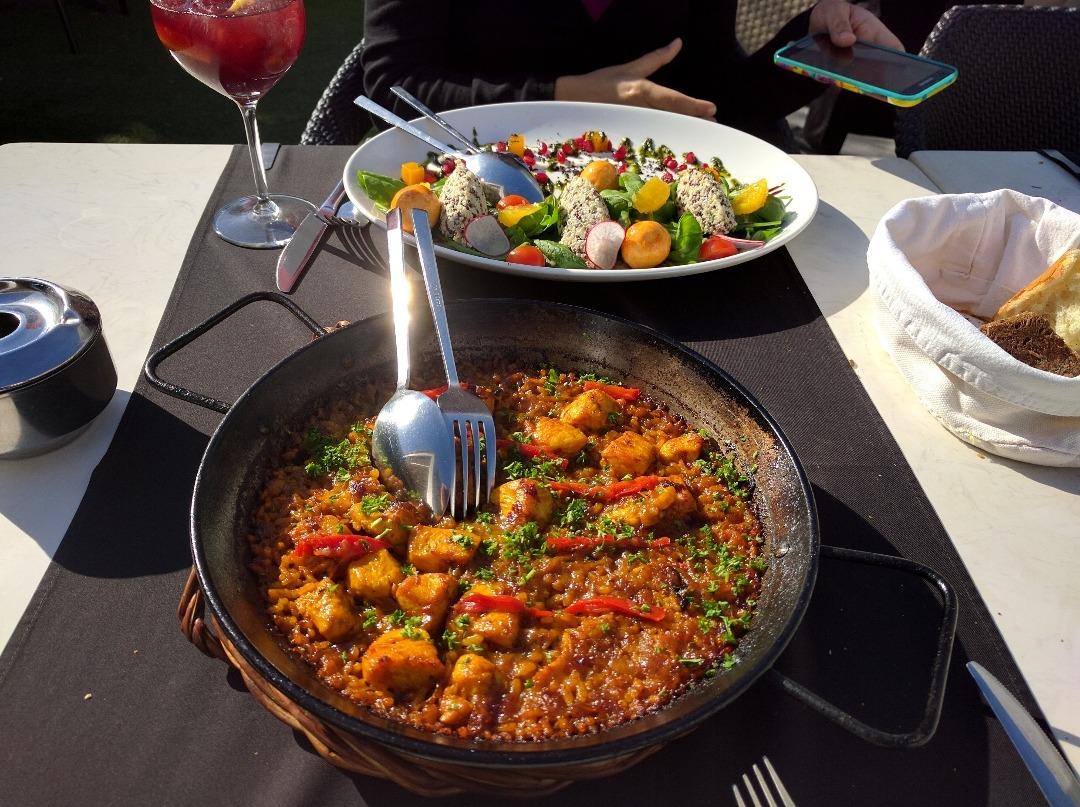 Chicken paella @ La Vinoteca Barcelona - Bahrain