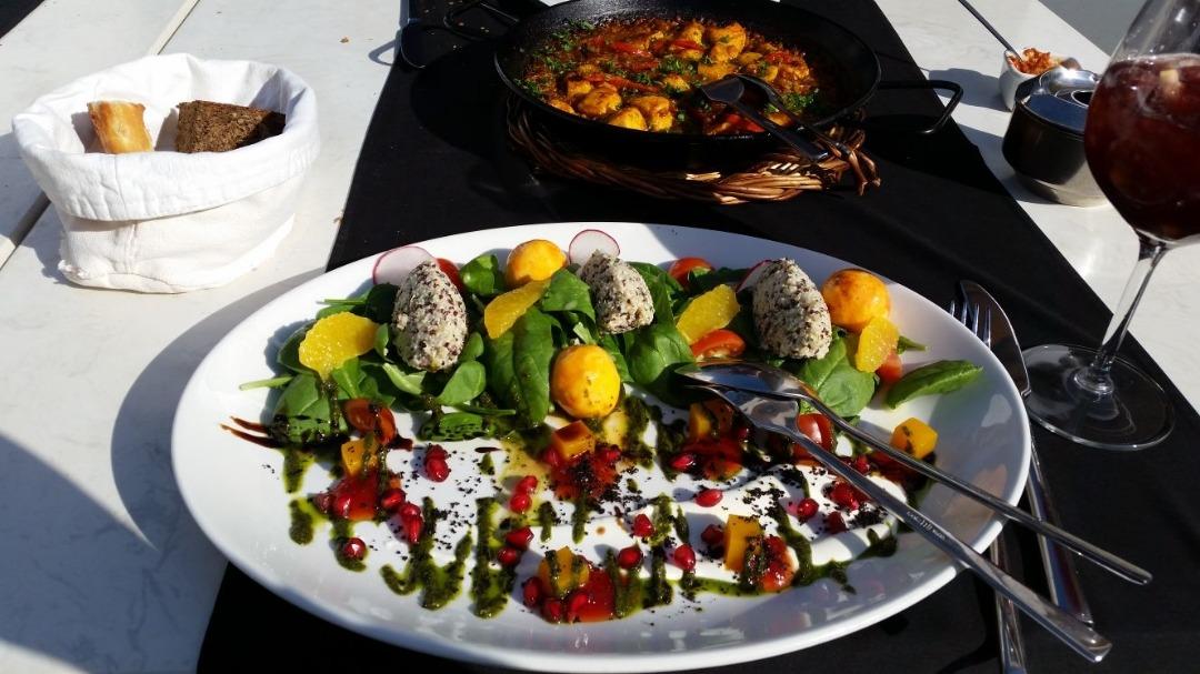 Quinoa salad.. yum! @ Cafe Amsterdam - Bahrain