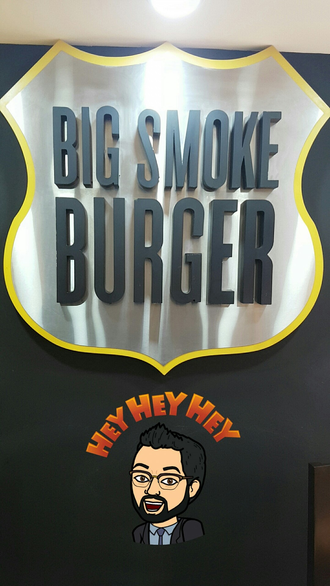 #bigsmokebuger #burger @ Big Smoke Burger - Bahrain