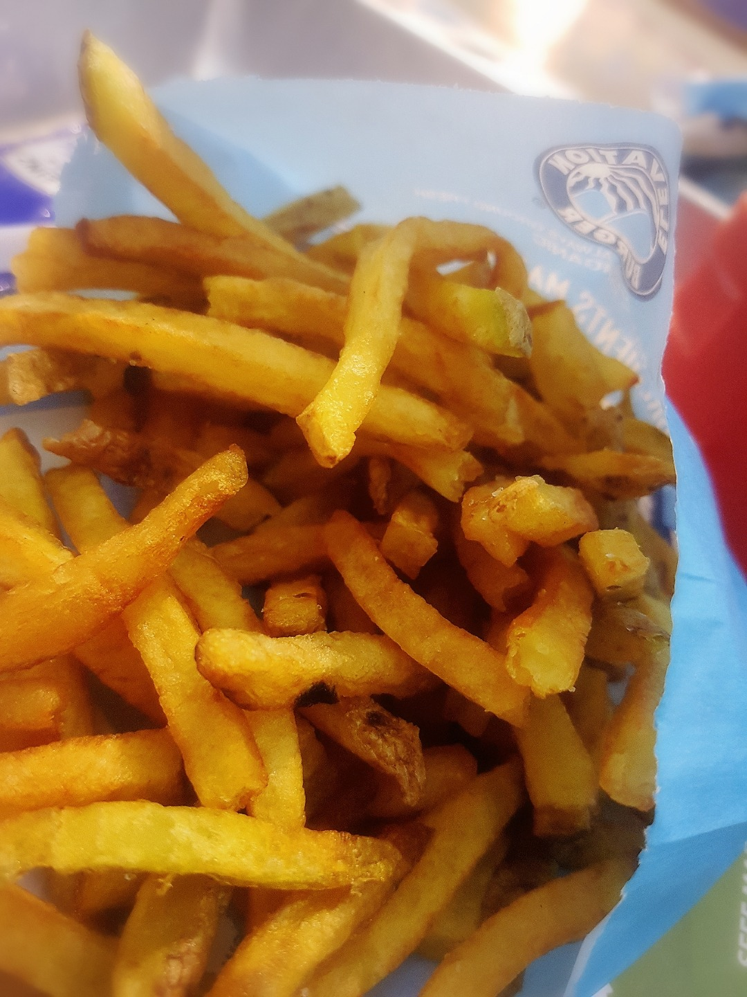 French fries @ Wafflemeister - Bahrain