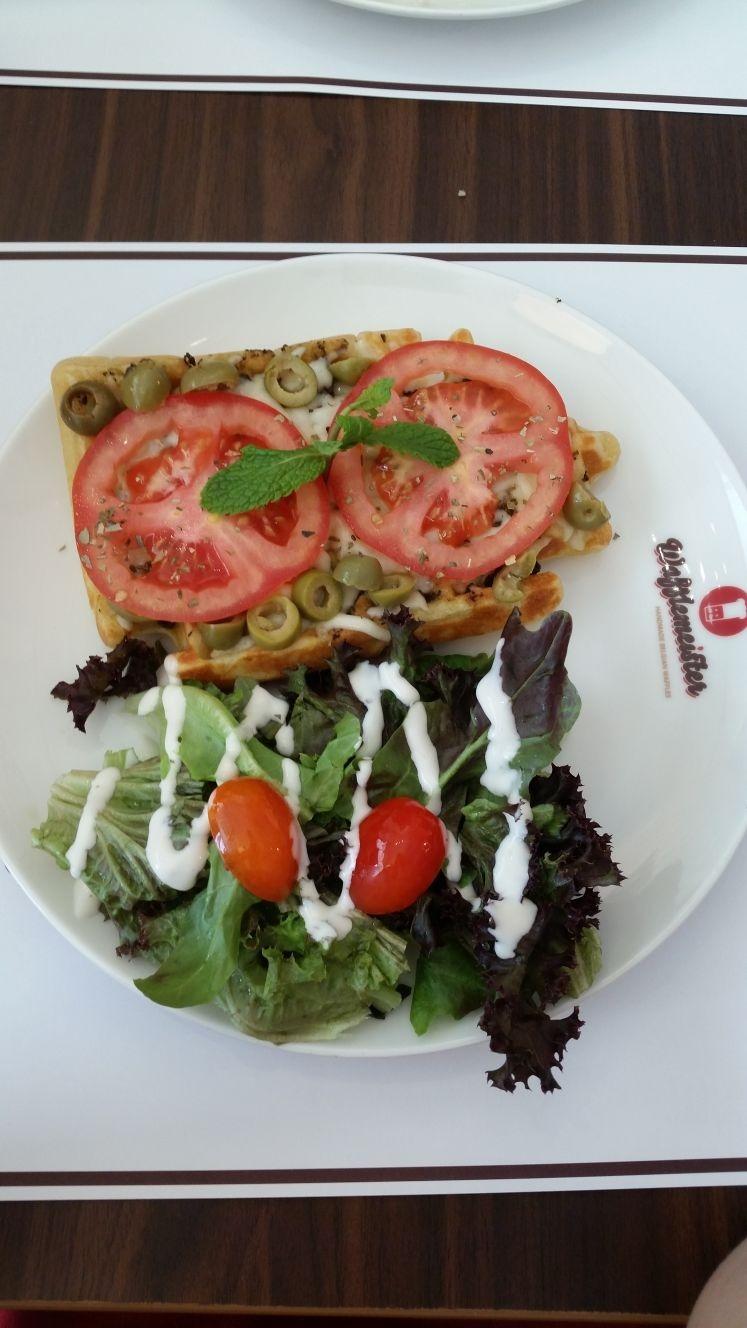 Breakfast waffle @ Wafflemeister - Bahrain