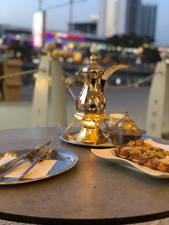 قهوة عربي على المزاج @ San Remo Café - Bahrain