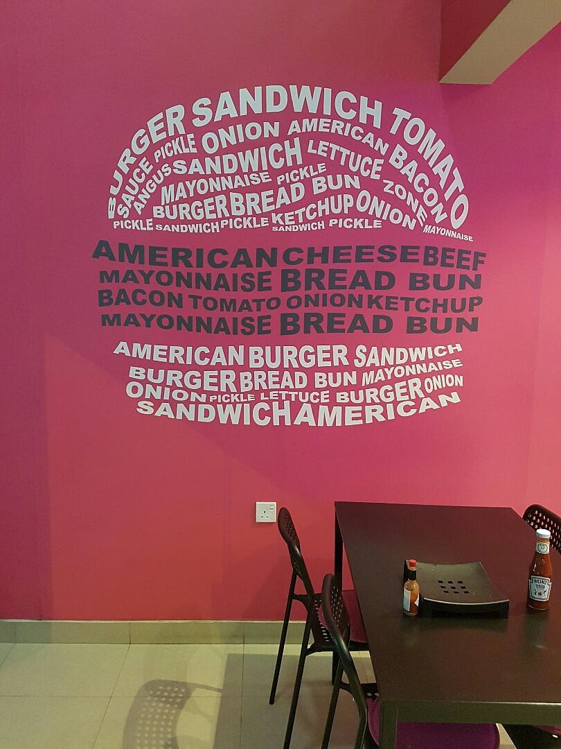 #burger #fries #burgerzone @ Burger Zone - Bahrain