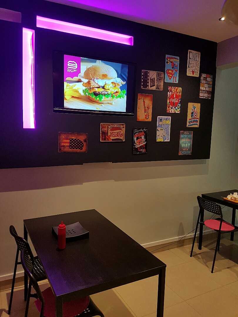 #burger #fries #burgerzone @ Burger Zone - Bahrain