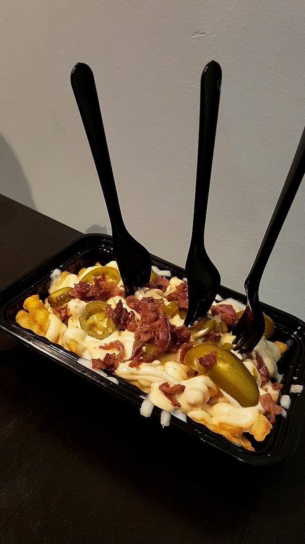 Dynamite Fries #burger #fries #burgerzone @ Burger Zone - Bahrain