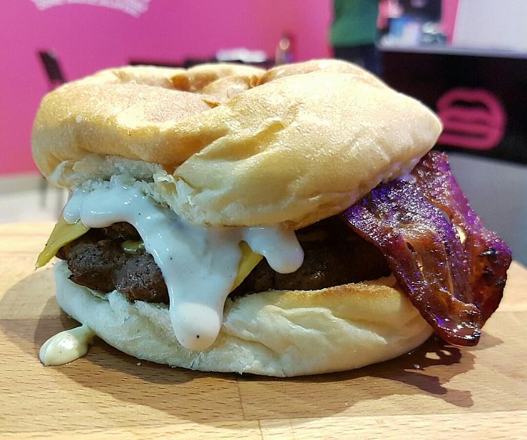 Big Mouth Burger #burger #fries #burgerzone
