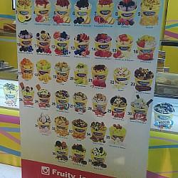 #icecream different flavours