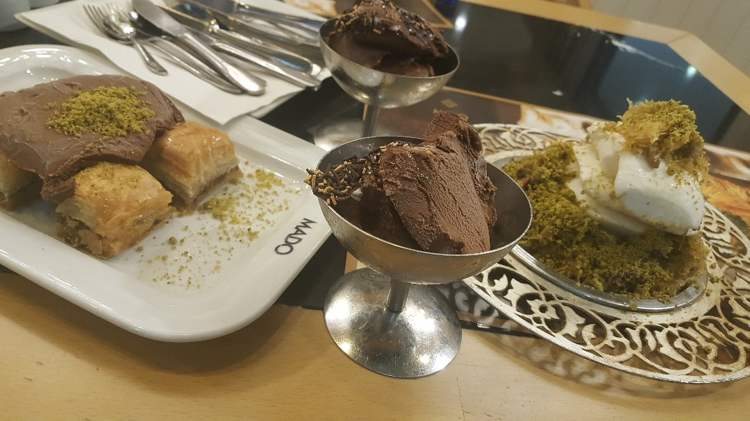 Turkish ice cream � @ Mado - Bahrain