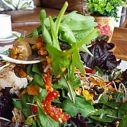 #fresh #salad . innovative salad👌