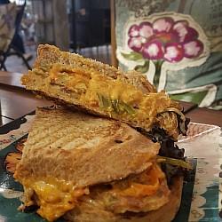 #Omelet sandwich