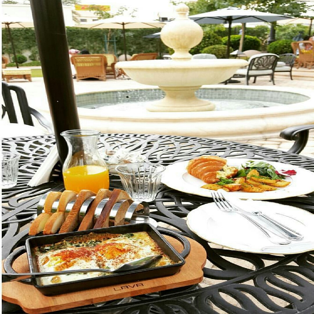 #breakfast @ The Orangery - Bahrain