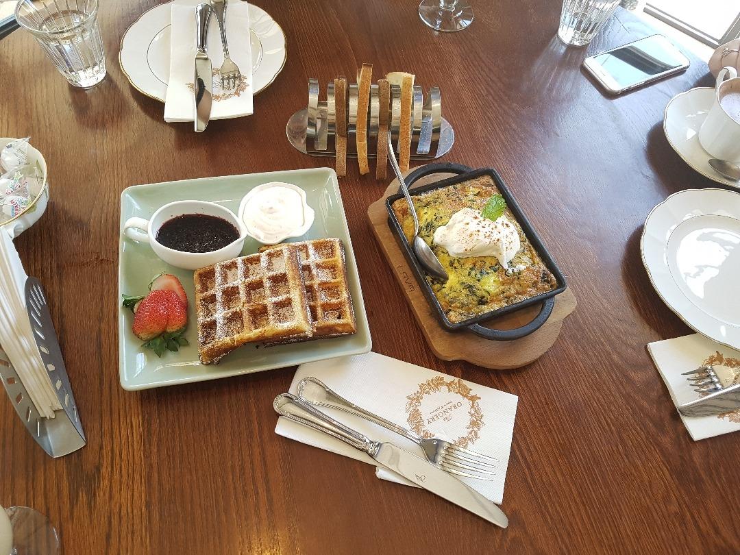 Yum breakfast at Orangery! @ The Orangery - Bahrain
