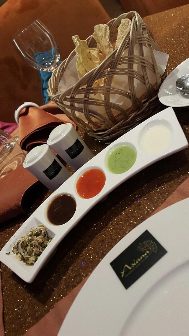 Indian starter @ Asiana restaurants