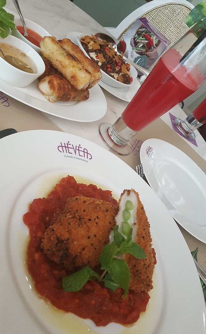 My fav cafe 👌 @ Hevea Cafe - Bahrain
