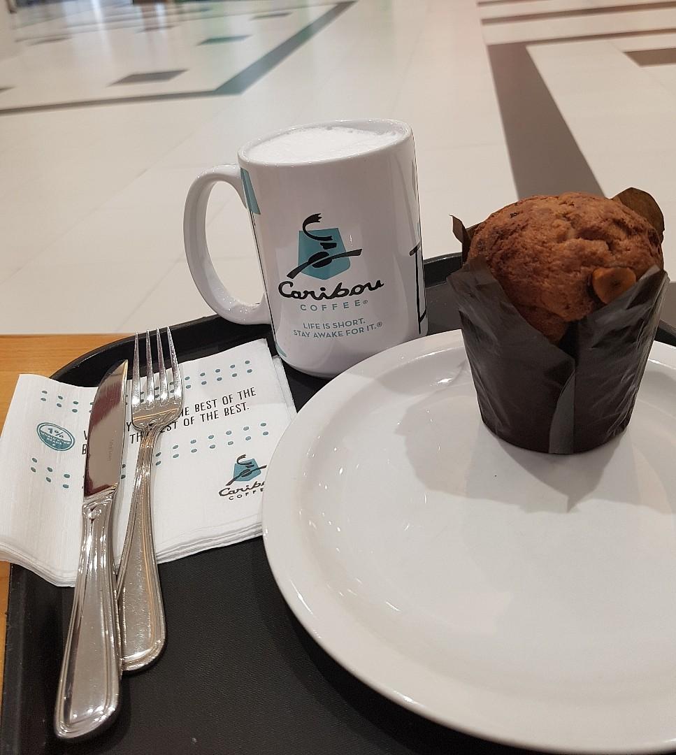 cappuccino @ Caribou Coffee - Bahrain