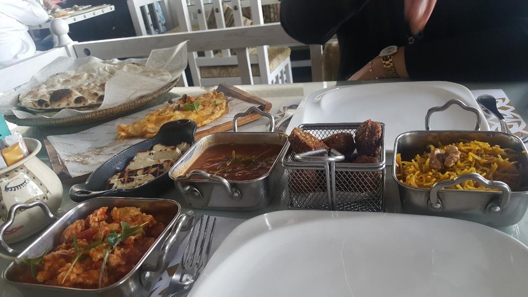 bahraini #breackfast @ Shishabi Restaurant & Cafe - Bahrain
