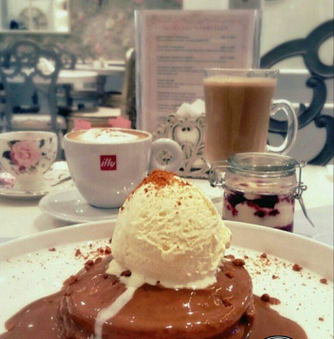 #lotus #pancake @ Majestea Tea Room - Bahrain