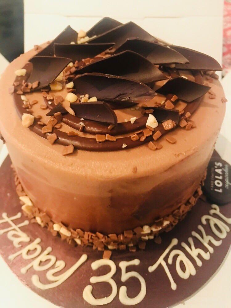 Chocolate Hazelnut cake.. best one yet! @ Lolas CupCakes - Bahrain